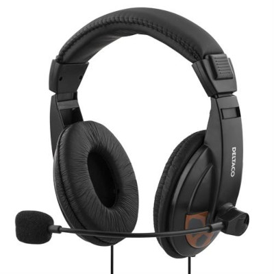 Mikrofonikuulokkeet (HeadSet) 20-20000Hz